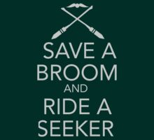 Save a Broom, Ride a Seeker by madoldsquib