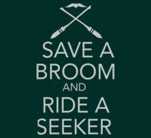 Save a Broom, Ride a Seeker T-Shirt