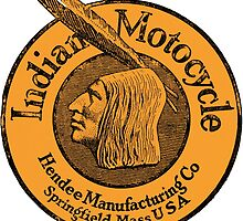 Indian Motorcycle logo 1921 by Kawka