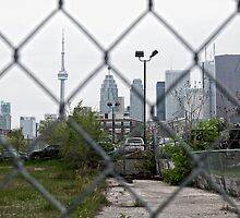 Toronto Cityscape from the other side by Darren Boucher