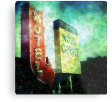 Motel Metal Print