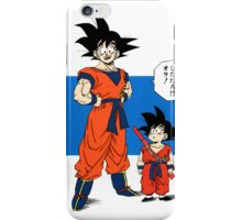 Back To The Past - Dragon Ball iPhone Case/Skin