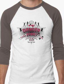 Danger Zone! Men's Baseball ¾ T-Shirt