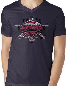 Danger Zone! Mens V-Neck T-Shirt