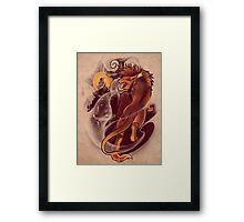 Vallen of the Fallen Star Framed Print