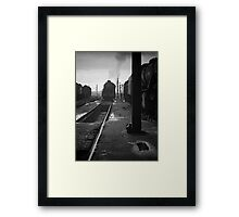 Steam Days, UK, 1970s. Framed Print
