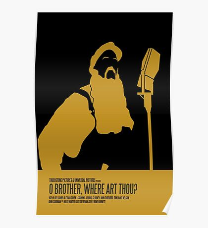 O Brother Where Art Thou Poster Poster