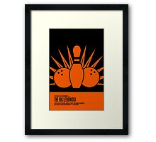 The Big Lebowski Poster Framed Print