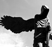 Angel of death by Martulia