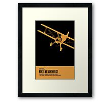 North By Northwest Poster Framed Print