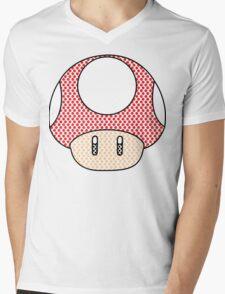 nintendo Mushroom Mens V-Neck T-Shirt