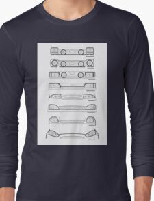 Ford Fiesta grills from past to present T-Shirt