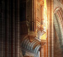 The Grand Organ, Liverpool Anglican Cathedral by Peter Ackers