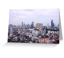 Bangkok City Greeting Card