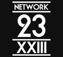 Network 23 Small White Logo by Christopher Bunye
