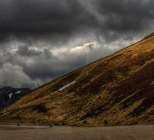 Bikers in the Cairngorms by Peter Ackers