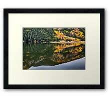 Cottonwood Lake Reflections Framed Print
