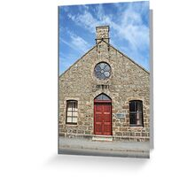 Melvin Village Hall, Tarves, Scotland Greeting Card