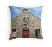 Melvin Village Hall, Tarves, Scotland Throw Pillow