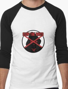 Stop The Riots Men's Baseball ¾ T-Shirt
