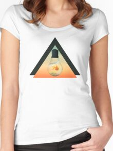 GOLD FISH  Women's Fitted Scoop T-Shirt