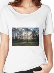 Sparse Tree Women's Relaxed Fit T-Shirt