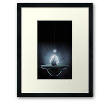 Incubating Night Framed Print