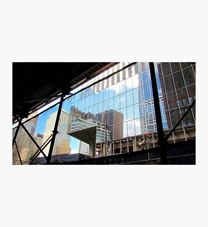 Downtown reflections Photographic Print