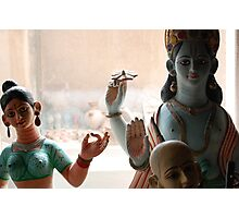 Sita and Rama Photographic Print