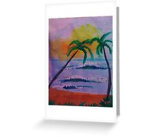 Serenity at its best, watercolor Greeting Card