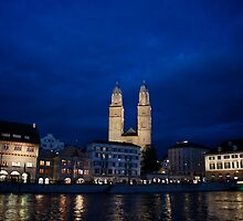 grossmünster by trounoir