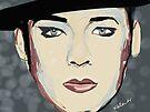 Boy George by Nigel Silcock
