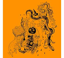 Witches Brew (pumpkin) Photographic Print