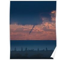 Waterspout off the Tweed coast, #2 of 31 July 2009 Poster