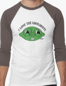 I love the limelight! Men's Baseball ¾ T-Shirt