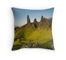 Old Man Of Storr, Skye,Highlands Throw Pillow
