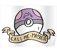 Naughty Pokeball - Masterball Poster