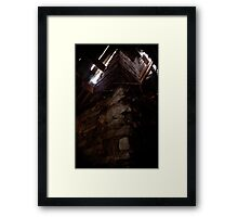 Welcome to the Attic Framed Print