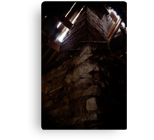 Welcome to the Attic Canvas Print