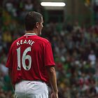 Roy Keane 16 - Manchester United Legend by Vagelis Georgariou