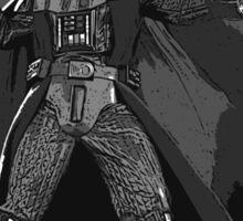 Darth Vader playing Sticker