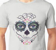 Day of Dead Girl Face 3 Unisex T-Shirt