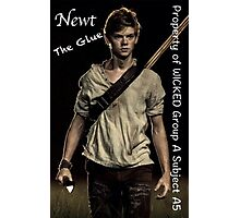 The Maze Runner - Newt  Photographic Print