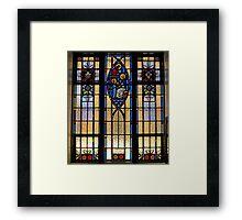 Jesus & Mary Window Framed Print