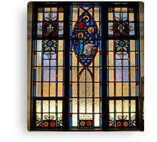 Jesus & Mary Window Canvas Print