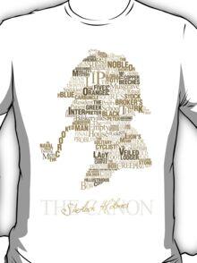 Sherlock Holmes The Canon T-Shirt