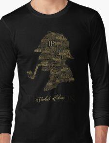 Sherlock Holmes The Canon Long Sleeve T-Shirt