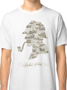 Sherlock Holmes The Canon (white) Classic T-Shirt