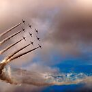 Red Arrows by Simon Marsden