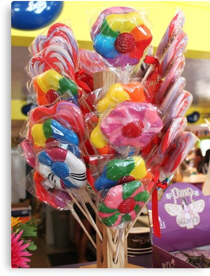 Lollipop, lollipop, oh lolli lolli lolli by DonnaMoore